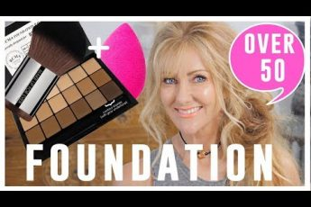 Over 50 Makeup Tutorial | FOUNDATION