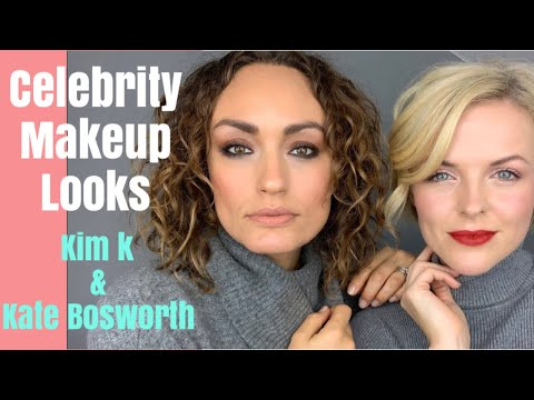 Makeup tutorial | celebrity makeup looks | Kim Kardashian | Kate Bosworth