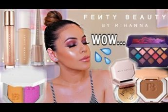 FULL FACE OF FENTY BEAUTY BY RIHANNA: HITS + MISSES! PRODUCTS WORTH YOUR MONEY   JuicyJas