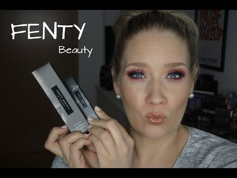 FENTY BEAUTY Foundation & Concealer FIRST und SECOND IMPRESSION!!! // Birthe.loves.Makeup