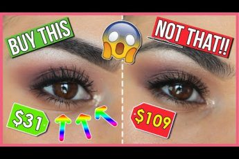 $31 vs. $109 EYES?!! ? Affordable Options for High End Makeup