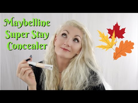 HOT FLASH & Wrinkles Makeup! #122 – Maybelline Super Stay Concealer review on mature women – bentlyk