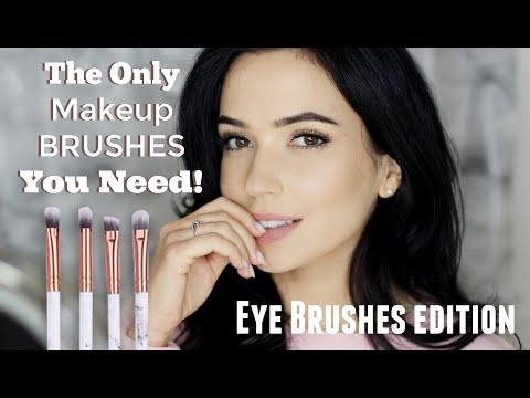 Eye Makeup Brushes For Beginners | Start with just TWO Brushes!