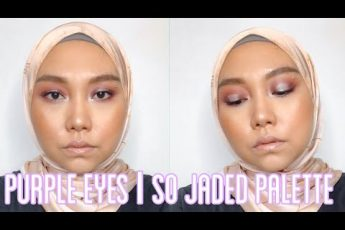 Makeup Tutorial : Purple Eyes using Colourpop So Jaded Palette | Look #1