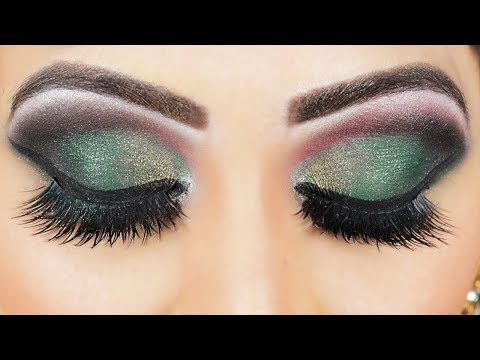 BOTTLE GREEN | SMOKEE EYES MAKEUP