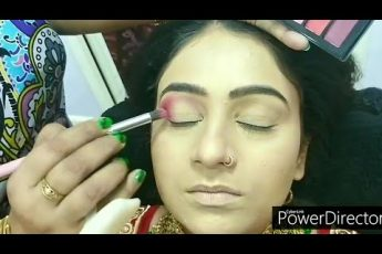 Real HD bridal makeup  for beginners//step by step easy & simple method