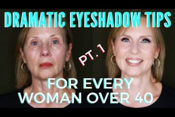 Dramatic Eyes For Mature Women Over 40 Step By Step Makeup Tutorial | mathias4makeup