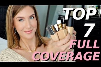The BEST Full Coverage Foundation For Mature Oily Skin
