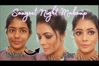 Sangeet Night Makeup Look | Smokey Eyes | Bridal Makeup Series- Look 3 | #shadisaga| Ektaguptamua
