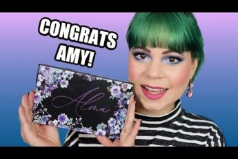 Trying the Amy Loves Makeup x Ami hearts beauty Alma palette!