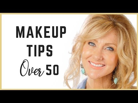 Beautiful Makeup For Mature Skin | Fabulous50s!