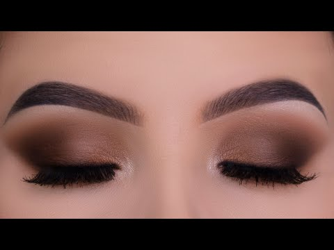 Classic Everyday Brown Eye Makeup Tutorial