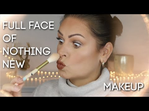 Alte Make-up Schätze Look I Full face of nothing new I Mamacobeauty