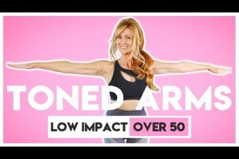10 Minute TONED ARM Walking Workout For Women Over 50 | Low Impact | fabulous50s!