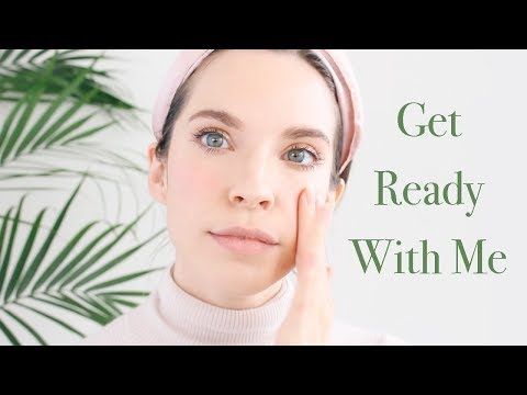 GRWM! Spring Makeup w/ Natural & Organic Beauty Products!