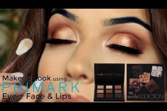 Eye Makeup Tutorial Using Primark Makeup Palette | TheMakeupChair