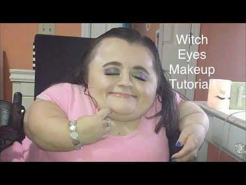 Witch Eyes Makeup Tutorial!