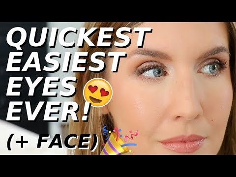 QUICK EYE MAKEUP In A Hurry | Makeup for Everyday | Over 40