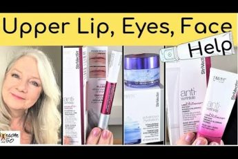 Beauty over 50 | Help for Upper Lip Wrinkles, Eyes & Skincare Tips for Mature Women over 50