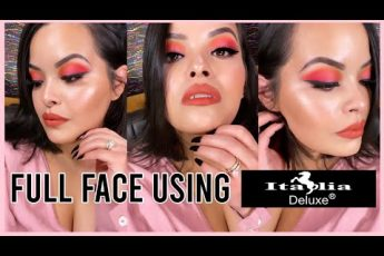 Full face using Italia Deluxe Makeup + Review || Mermishell Beauty 2019