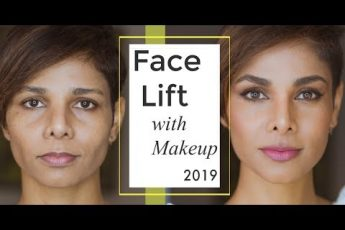 HOW TO FAKE A FACE LIFT WITH MAKE UP- 2019