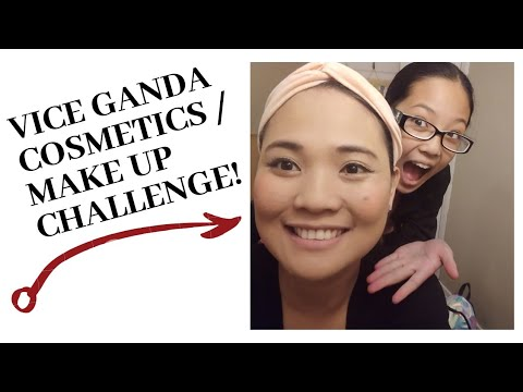 VICE GANDA EYESHADOW & LIPSTICK :PRODUCT REVIEW/ Mother & Daughter Make Up Challenge