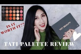 TATI BEAUTY PALETTE mini Review – Glitter Glam Look For Asian Hooded Eyes | Alexa Style Book