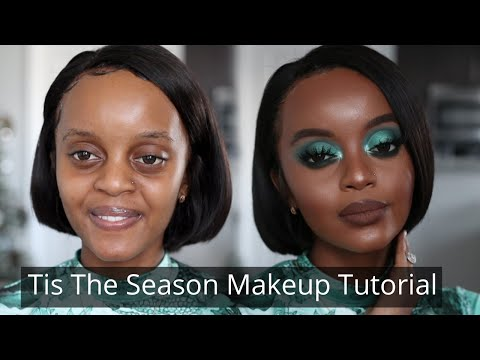 Tis The Season Eye Makeup | Makeup For Black Women | Holiday Makeup 2019