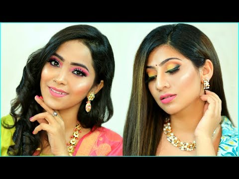 MUST Try Festive LOOK – RAKHI Special HAIRSTYLE & MAKEUP |  #Beauty #Tutorial #Fun #Anaysa