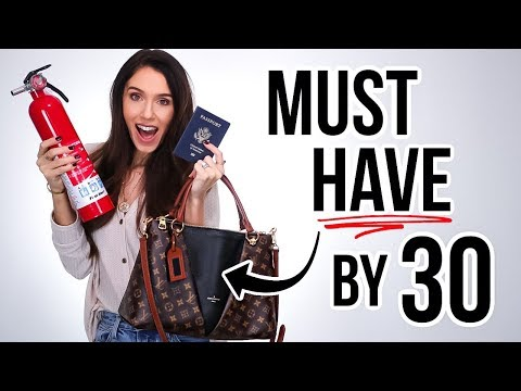 10 Things EVERY WOMAN Should Own By Age 30!