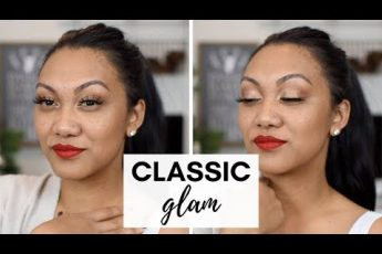 Classic Glam Holiday Makeup | Charlotte Tilbury Starry Eyes To Hypnotise | Look 2