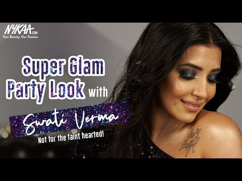 New Year's Eve Glam Smokey Eye Makeup Tutorial Ft. Swati Verma | Nykaa