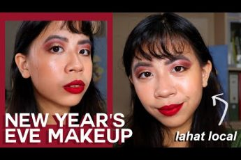 New Year's Eve Makeup Tutorial! Full Face of Local Makeup (hooded eyes) | Sarah Eliya