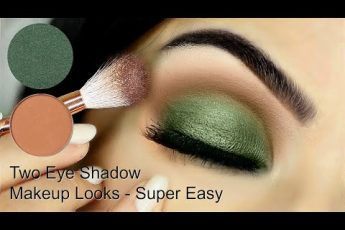 Beginner Eye Makeup Using One Matte and One Metallic | How To Apply Eyeshadow | TheMakeupChair