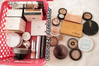 Green Beauty Makeup Inventory and Declutter #2 – Bronzers