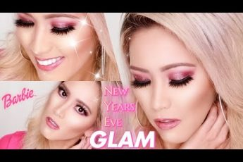 Come on, Barbie, let's go Party | NYE MAKEUP TUTORIAL | PUR COSMETICS X BARBIE