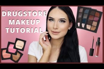 Drugstore Makeup Tutorial + Sally Beauty Makeup Review!
