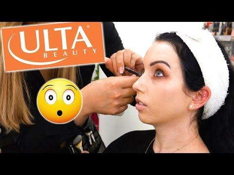 I GOT MY MAKEUP DONE AT ULTA….and it was shocking
