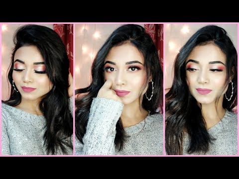 GRWM:New Years Eve Glam Makeup | Soft Glam Makeup Tutorial | Step by Step,for beginners