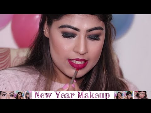 New Year Makeup Look 2020  // Smokey Eyes By Minakshi Beauty Tips