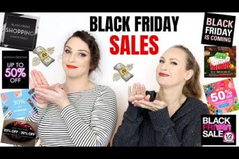BLACK FRIDAY & CYBER MONDAY 2019 | Makeup & Beauty Sales!