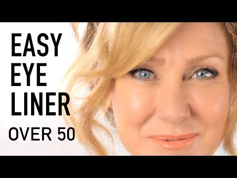 Eyeliner Tutorial For Mature Eyes | Fabulous50 !