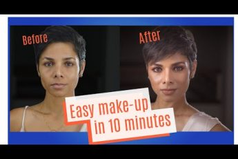 How To: Easy Everyday Makeup In Under 10 Minutes / Using 5 products/ Over 40