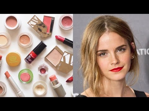 Emma Watson Makeup Bag | English Rose Look with Clean Beauty