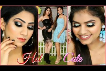 HOT vs CUTE – New Year MAKEUP Look | #GRWM #Beauty #Anaysa