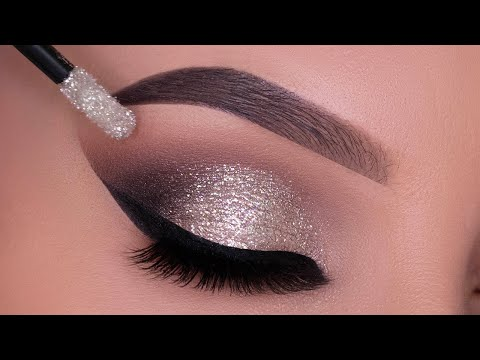 Glitter Smokey Eyes for New Year's Eve Tutorial | Party Makeup