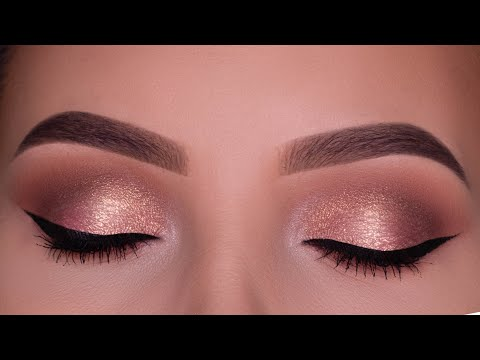 Bronzed Glowy Special Occasion Eye Makeup Tutorial
