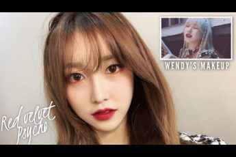 "Using makeup that they actually used😮 | Red Velvet ""Psycho"" Makeup"