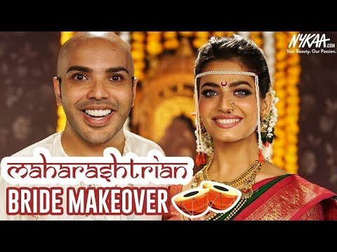 Maharashtrian Bridal Makeup Step by Step Tutorial | Eye Makeup | Shaan Mutthatil | Nykaa