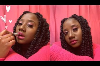 Glam Pink Make-Up Look   Kailyn B.